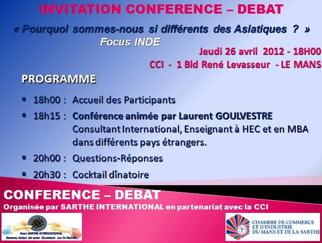 Invitation Conférence-Débat CCI Mans   Blog Expert - Formation ... e77d747c9ee