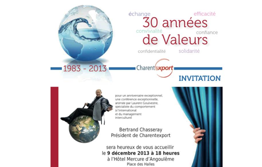 Conférence interculturelle à Angoulème (privée)